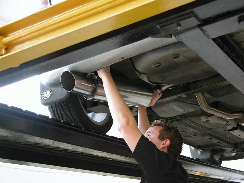 exhaust repair edinburgh